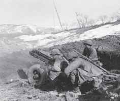 Artillerymen from the 10th Mountain Division operate their M1A1 75mm pack howitzer. These compact guns were the main heavy support within the 10th, and could be disassembled for transport by mule. (Laemlein)