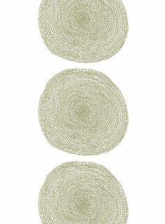 Pippurikerä-kangas (valkoinen,ruskea)   Marimekko