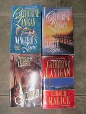 Lot of 4 Catherine Lanigan Romance Paperback Books