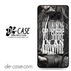 The Hobbit Gandalf Quote DEAL-10760 Samsung Phonecase Cover For Samsung Galaxy Note 7