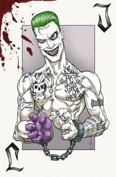 SuicideSquad Joker by DazTibbles
