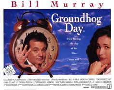 Groundhog Day - Possibly the most Buddhist movie ever made without knowing it was making a Buddhist movie. Very zen, that. Movie Photo, Movie Stars, Movie Tv, Funny Movies, Good Movies, Phil Connors, Groundhog Day Movie, Chris Elliott, In Medias Res