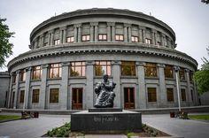 places to see  .. X ღɱɧღ ||  Opera House,  Yerevan, Armenia