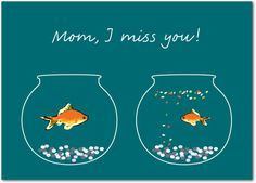 Faraway Fishbowls - Mother's Day Greeting Cards in Wave | Magnolia Press