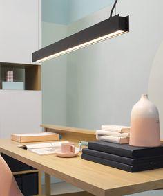 LEDlux Saba 1200 lumen 900mm Dimmable Pendant in Black | Pendant Lights | Lighting