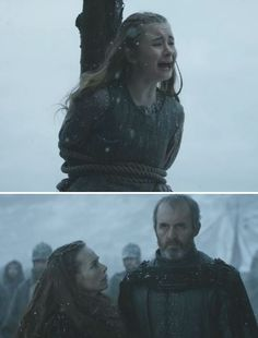 """Shireen, Selyse & Stannis Baratheon 
