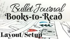 Bullet Journal | Currently Reading Layout/Setup