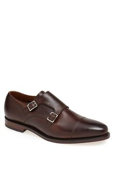 Allen Edmonds 'Mora' Double Monk Shoe (Men) available at #Nordstrom