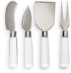 Four-Piece Cheese Knife Set
