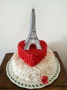 Wedding Cake - Paris  Torta di matrimonio  a tema Parigi