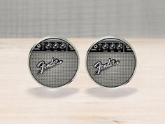 Fender Guitar Amp Cufflinks by Cuffitt