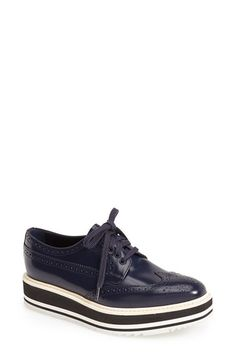 My love of Prada shoes is never ending! Prada Sport Oxford (Women) available at #Nordstrom