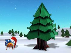 Christmas Tree – Origami Tree by Jo Nakashima Folder and Photographer: @Origami_Kids   HOW TO FOLD: http://www.origamichristmas.com/2014/12/christmas-tree-origami-tree-by-jo-nakashima.htm