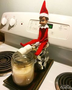 A full month's worth of Elf on the Shelf Ideas, plus links to 50+ more ideas for your elf this December. Everything from Star Wars and more!