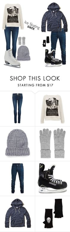 """Ice Skating Date"" by fandomsandfashion-492 ❤ liked on Polyvore featuring Paige Denim, Pull&Bear, The Elder Statesman, N.Peal, SELECTED, Nexus, Hollister Co. and 360 Sweater"