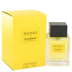 Monsieur Balmain By Pierre Balmain Eau De Toilette Spray 3.3 Oz
