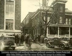 This photo - of the Lake County jail in Crown Point, Indiana - was taken at a time when John Dillinger was an inmate