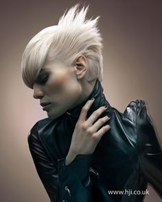 Tina Farey London Hairdresser of the Year finalist ♥ Reputation Line Inc. NY - Branding 4 Fashion