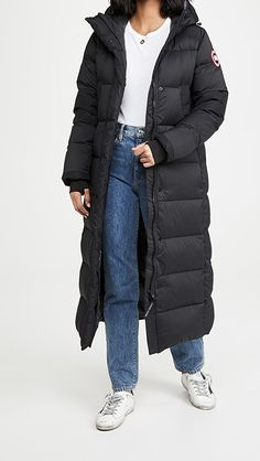 Canada Goose Alliston Parka | SHOPBOP Canada Goose Parka, Long Puffer Coat, Backpack Straps, Hand Warmers, Winter Jackets, Clothes, Style, Products, Fashion