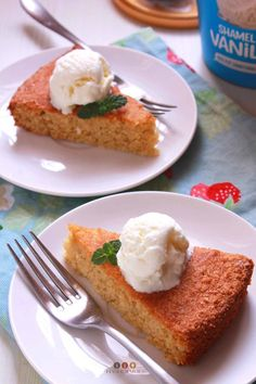 Mango Semolina Cake [Video Recipe] - Summer Mango Recipes Mango Recipes, Ice Cream Recipes, Sweet Recipes, Cake Recipes, Cake Videos, Food Videos, Cake Recipe With Eggs, Cake Ingredients List, Semolina Cake