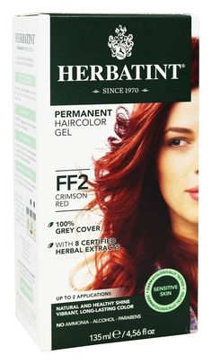 HERBATINT HAIR COLOR,CRIMSON RED, CT -- You can find more details by visiting the image link.