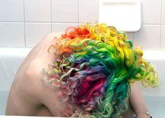 Rainbow's hairstyle