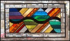 Color with A Twist Stained Glass Window