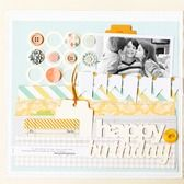 chic tags in studio Calico kit