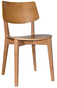 The Pheonix chair and stool are modern in design and packed with comfort. Made from American Oak solidwood and veneer, this product features clear staining that protects and accentuates the natural grain of the American Oak. Commercial Furniture, Phoenix, Solid Wood, Dining Chairs, Stool, Indoor, Range, American, Natural