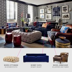 Chesterfields Sofa Armchairs Sectionals Ottomans Made In Usa Leather And Fabric Roger Chris