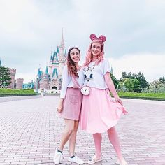 everyday, we both think about Tokyo Disney! we want to go back so bad! ⠀⠀⠀⠀⠀⠀⠀⠀⠀⠀⠀⠀ @eyelovedisney and i literally send each other messages of Tokyo Disney related merch, shows, and everything in between. we probably think about it MINIMUM 3 times a day! Tokyo Disneyland, Disneybound, Harajuku, Messages, Costumes, Mouse Ears, Times, Bride, Lifestyle