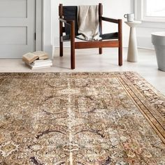 Shop Alexander Home Isabelle Traditional Vintage Border Printed Area Rug - On Sale - Overstock - 27283580 - x - Olive/Charcoal Vintage Prints, Vintage Rugs, Vintage Designs, Vintage Borders, Area Rugs For Sale, Border Print, Fashion Room, Online Home Decor Stores, Online Shopping