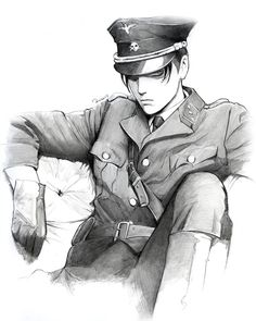 """roredwarrior3: """"For my bachelorette party I want the Captain Levi as streap man dressed in the uniform of the SS ;-P """""""