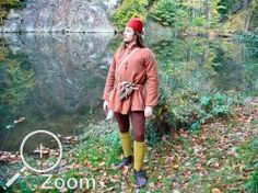 15th Century Fashion, 14th Century, Renaissance, Scandinavian, Medieval, Duster Coat, Hipster, Cosplay, Costumes