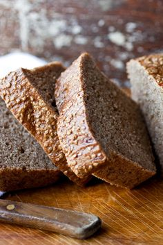 NYT Cooking: This moist, hearty bread slices beautifully for sandwiches or toast. The dough is sticky because of the moisture from the cooked quinoa, but resist the urge to add too much flour. Best Bread Recipe, Bread Recipes, Quoina Recipes, Bulgur Recipes, Vegetarian Recipes, Molasses Bread, Date Bread, Sourdough Rye, Country Bread