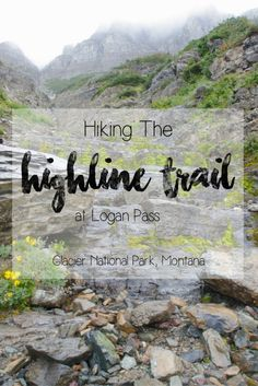 Hiking the Highline Trail at Glacier National Park's Logan Pass   The Highline Trail is a unique, adventurous and exciting trail to hike in Montana's Glacier National Park, as the trail follows a narrow ledge along the side of a rocky mountain, offering dramatic and breathtaking views of the surrounding landscape, lush vegetation and the Continental Divide. Read more about this hike in my blog post and view lots of photos to inspire your trip there!