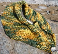 Knitting Patterns Galore - Contented Cowl