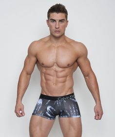 Calvin Klein  Bold X-Ray Special Edition Hand Print Trunk