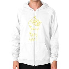 Re Volt Zip Hoodie (on man) Shirt