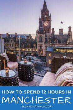 How to spend a day in Manchester, England. Make the most of a luxe day trip in this UK hidden gem by exploring the food scene, doing some local shopping and taking in the stunning skyline. The ultimate travel guide to things to do, top restaurants, and best luxury hotels for an overnight layover. Luxury travel in the UK. | Mrs O Around the World #Travel #TravelTips #TravelGuide #Wanderlust #BucketList #LuxuryTravel #Manchester #England #UK Luxury Hotels, Luxury Travel, Us Travel, Travel Ideas, Travel Guide, Travel Around The World, Around The Worlds, Bucket List Holidays, Manchester England