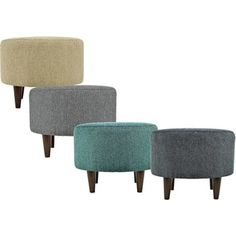 Shop for MJL Furniture Sophia Text2Olivia Round Upholstered Ottoman. Get free shipping at Overstock.com - Your Online Furniture Outlet Store! Get 5% in rewards with Club O!