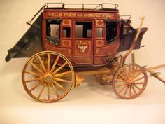 Bill Duncan's Custom Carriages and Other Vehicles for Model Horses: Stagecoaches for Model Horses for an Old West Look