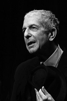 Leonard Cohen.  OK so he's in his 70s but have you heard him sing and listened to his lyrics?