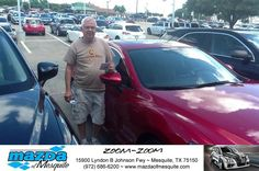 https://flic.kr/p/J5w7Yp | Happy Anniversary to Larry on your #Mazda #Mazda6 from Sara Lerouc at Mazda of Mesquite! | deliverymaxx.com/DealerReviews.aspx?DealerCode=B979