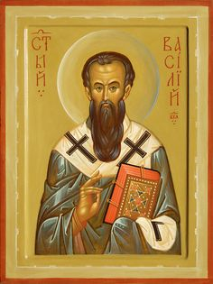 Basil the Great. Traditional Panel Orthodox icon of St. Basil the Great. St Basil's, Russian Icons, Best Icons, Church History, Black History Facts, Religious Icons, Orthodox Icons, Art Fair, Saints