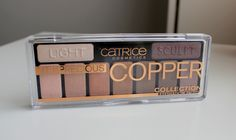 Catrice Cosmetics The Precious Copper Collection palette Swatch, Palette, Copper, Eyeshadow, Make Up, Cosmetics, Face, Collection, Products