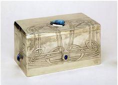 Archibald Knox   Cigarette box