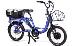 The Juiced Rider is in our opinion the very best electric cargo bike. It is a robust electric freight bikes, and boasts the markets best battery performance.
