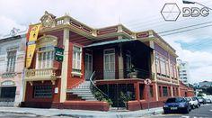 Antiga Casa de Restauro. Arquivo do Museu Amazônico.