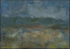 """Mark Wesling, """"Cove Landscape"""", 2000, oil on canvas, 5 x 7 in."""